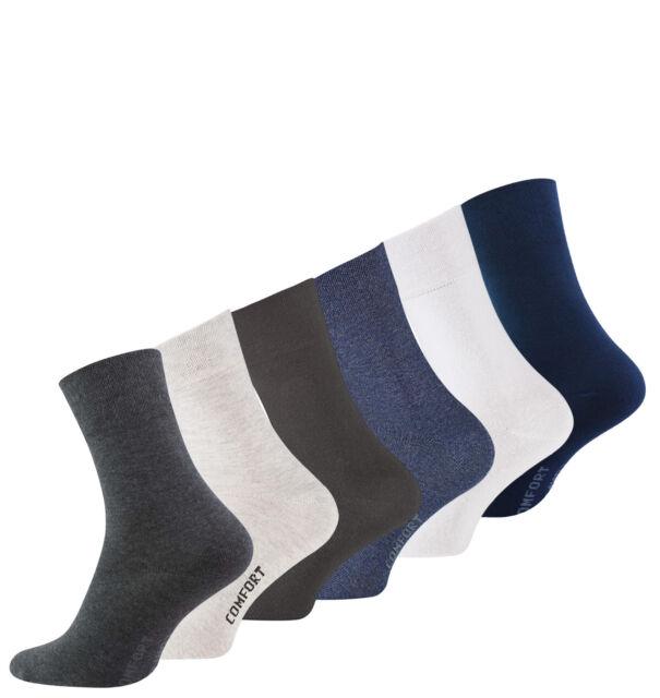 Herrensocken Diabetikersocken Strümpfe ohne Gummi KB Socken® 3 oder 9 Paar