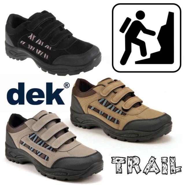 Mens DEK ASCEND Triple touch fastening Trek /& trail Shoe