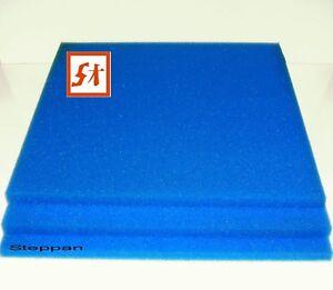 Filtermatte Koi Filterschwamm 50 X 50 X 4 cm PPI 10 Teichfilter
