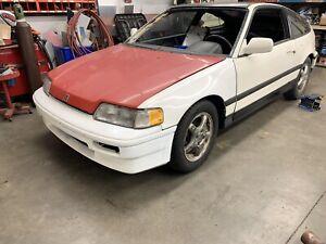 Honda CRX SI project car