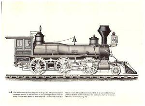 Baldwin-Mogul-600-B-amp-O-Mt-Washington-Boston-Concord-Montreal-RR-Train-print