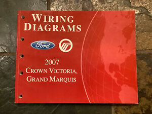 2007 Ford Crown Victoria Grand Marquis Wiring Diagrams ...