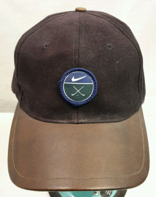 818103658ad Frequently bought together. Nike Golf Cap Hat Leather Bill