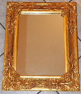 WANDSPIEGEL ROKOKO-/BAROCK-STIL (No. 2020/06) goldfarbig 55 cm x 93,5 cm