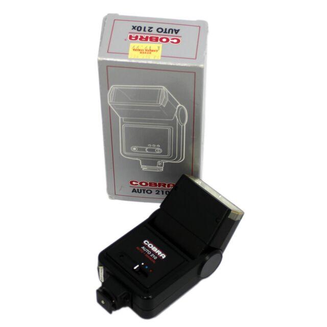 Cobra Auto 210 shoe mount flash for film cameras - Boxed & Warranty