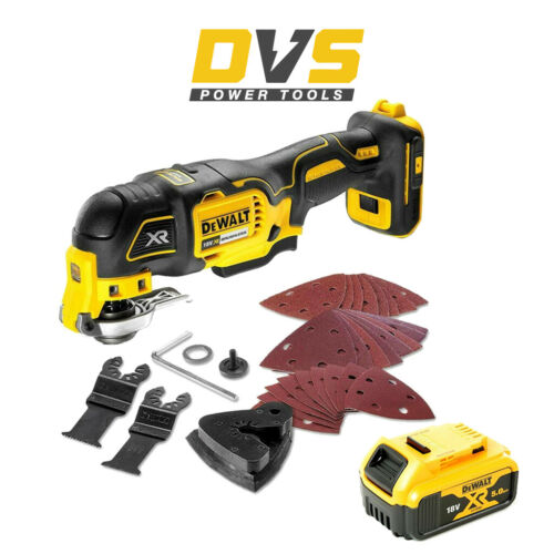 DeWalt DCS356N 18 V XR Sans Fil Brushless 3 Vitesse Oscillant Multi Outils 5Ah