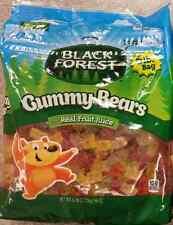 6 Lb Bag Black Forest Gummy Bears Candy Bulk Real Fruit Gummies Free Shipping
