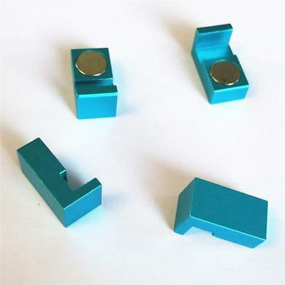 100% QualitäT Magnetic Parallel Keepers, Holders. Vise, Cnc,kurt,machinist Tools Blue