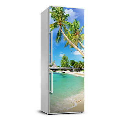 Details about  /Self adhesive Fridge Magnet removable Sticker Landscapes Seashell on the beach