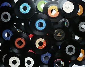 50 schallplatten 7 f r deko party polterabend basteln - Deko schallplatten ...