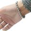 Bracciale-Braccialetto-Perle-Sfere-Palline-In-Acciaio-Inox-Uomo-Donna-Unisex-Top miniature 8