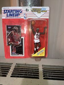 NEW Starting Lineup 1993 Horace Grant w glasses Chicago Bulls figure w 2 cards