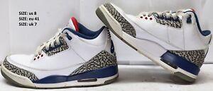 f6291df5436 Nike Air Jordan 3 Retro III OG True Blue 2016 854262-106 Size 8 US ...