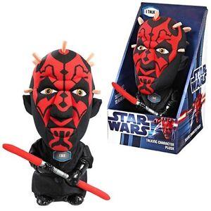 Star Wars Darth Maul 22.9cm sprechenden Plüsch NEU OVP tolles Geschenk Action- & Spielfiguren