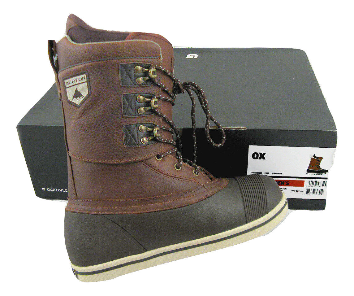 NEW  280 Burton OX Snowboard Boots  US 8.5  Mondo 26.5  Euro 41.5  Brown