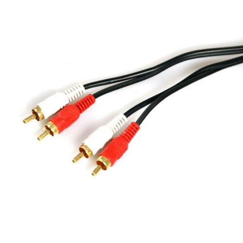 3 KM Stéréo HIFI Câble Extension Audio 2x Cinch RCA Connecteur