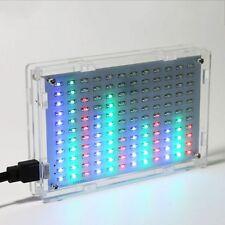 LED Music Spectrum Analyzer Audio Level Meter MP3 PC Amplifier Indicator DIY kit