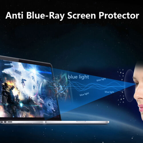 2X Anti Glare//Blue-Ray Screen Protector for HP ENVY TouchSmart 15.6 Screen