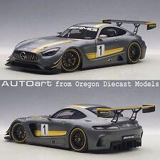 AUTOart 81530 1/18 Mercedes-AMG GT3 Presentation Matt Grey Metallic Composite