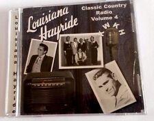 Various Artists Louisiana Hayride Classic Country Radio Volume 4 Johnny Cash