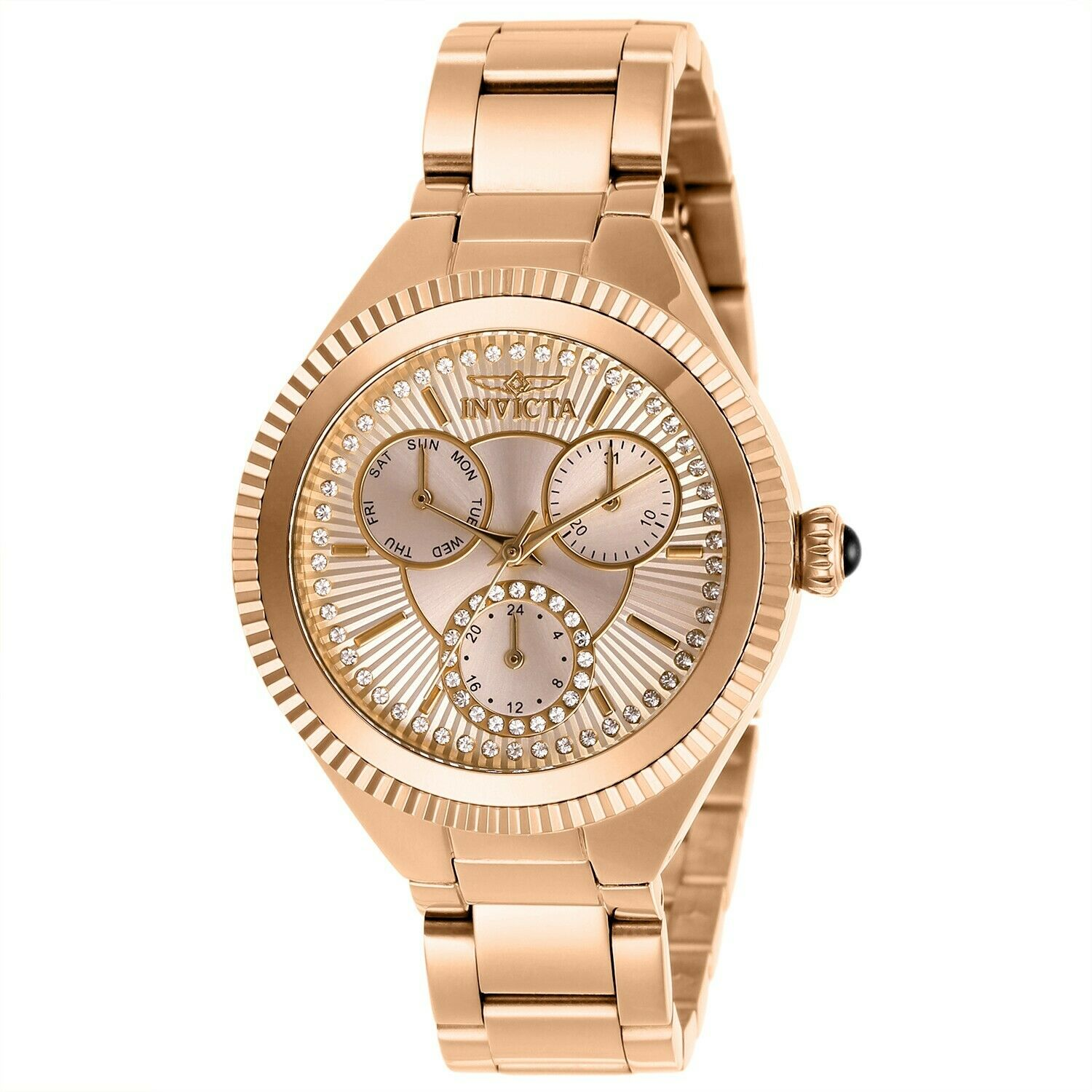 Invicta Women's Angel 28346 36mm White Dial Stainless Steel Watch