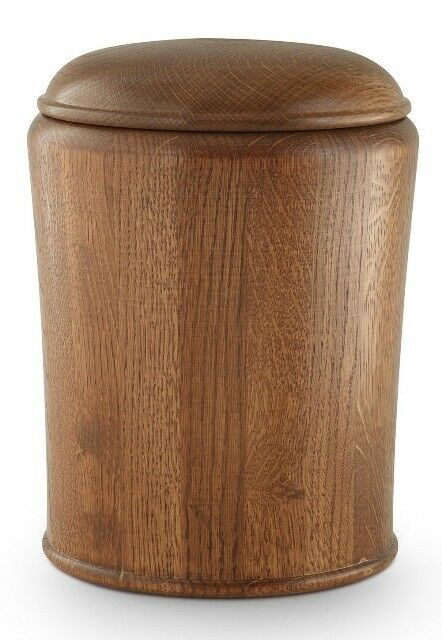 Rustic Oak Cremation Cendres Funeral urn/Casket urn/Casket urn/Casket (Beautiful Natural Finish) dd611e