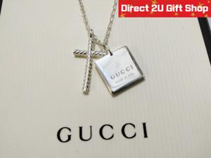 c40f04381 Genuine Gucci Sterling Silver 18.75