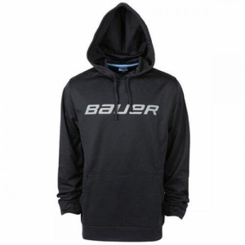 Bauer Core Training accosta felpa nero con cappuccio nero felpa d06d88