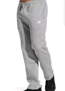 Details about Nike Club Open Hem Fleece Pants Mens 804395,063 Grey  Sweatpants Size 3XL