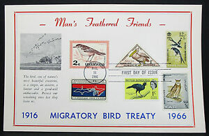 First-Day-of-Issue-FDC-Wading-Bird-Treaty-Pittsburgh-USA-Ersttagspost-H-7344
