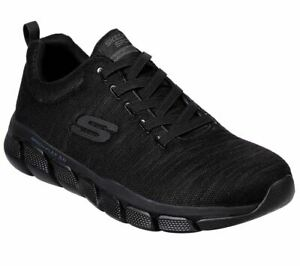 Athletic Uomo Sneaker Relaxed Strongkeep 3 Fit in nero Skech Skechers 0 flex 8O1qg