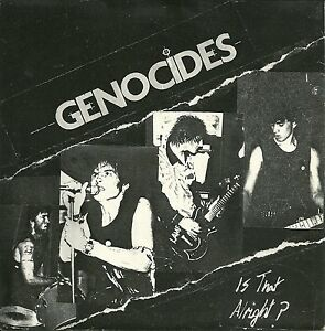 GENOCIDES Is That Alright 7034 UK 1982 HC Punk KBD Johnny Thunders HEARTBREAKERS - <span itemprop='availableAtOrFrom'>Hoxton, London, United Kingdom</span> - GENOCIDES Is That Alright 7034 UK 1982 HC Punk KBD Johnny Thunders HEARTBREAKERS - <span itemprop='availableAtOrFrom'>Hoxton, London, United Kingdom</span>