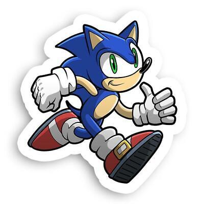 Thumbs Up Running Sonic The Hedgehog Sega Gotta Go Fast Sticker 2 5 X 2 5 Ebay