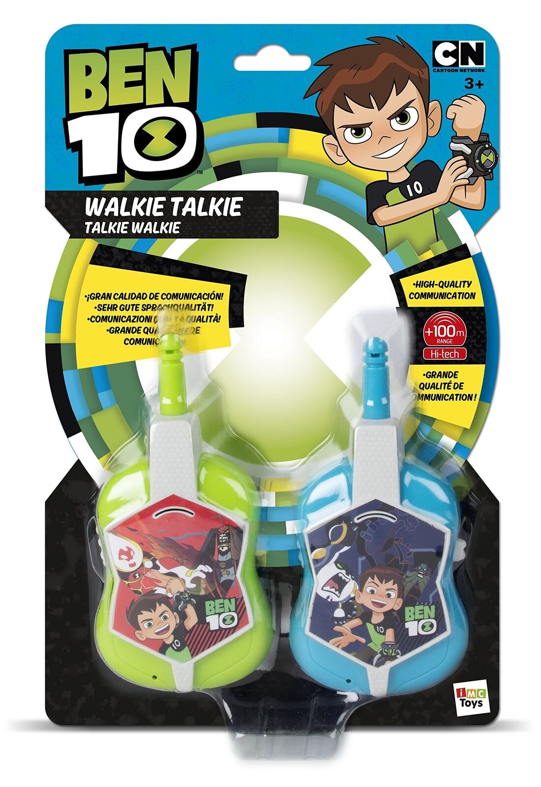 Ben 10 promänadie Talkie (IMC leksaker 70680)