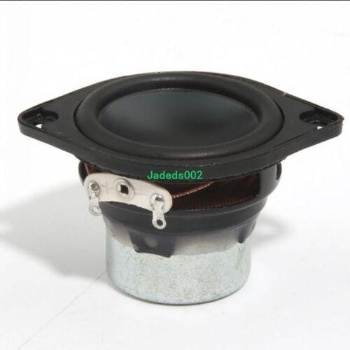 "2pcs 1.5/""inch full-range speakers Loudspeaker 42mm 6Ω 8W HIFI Audio Parts"