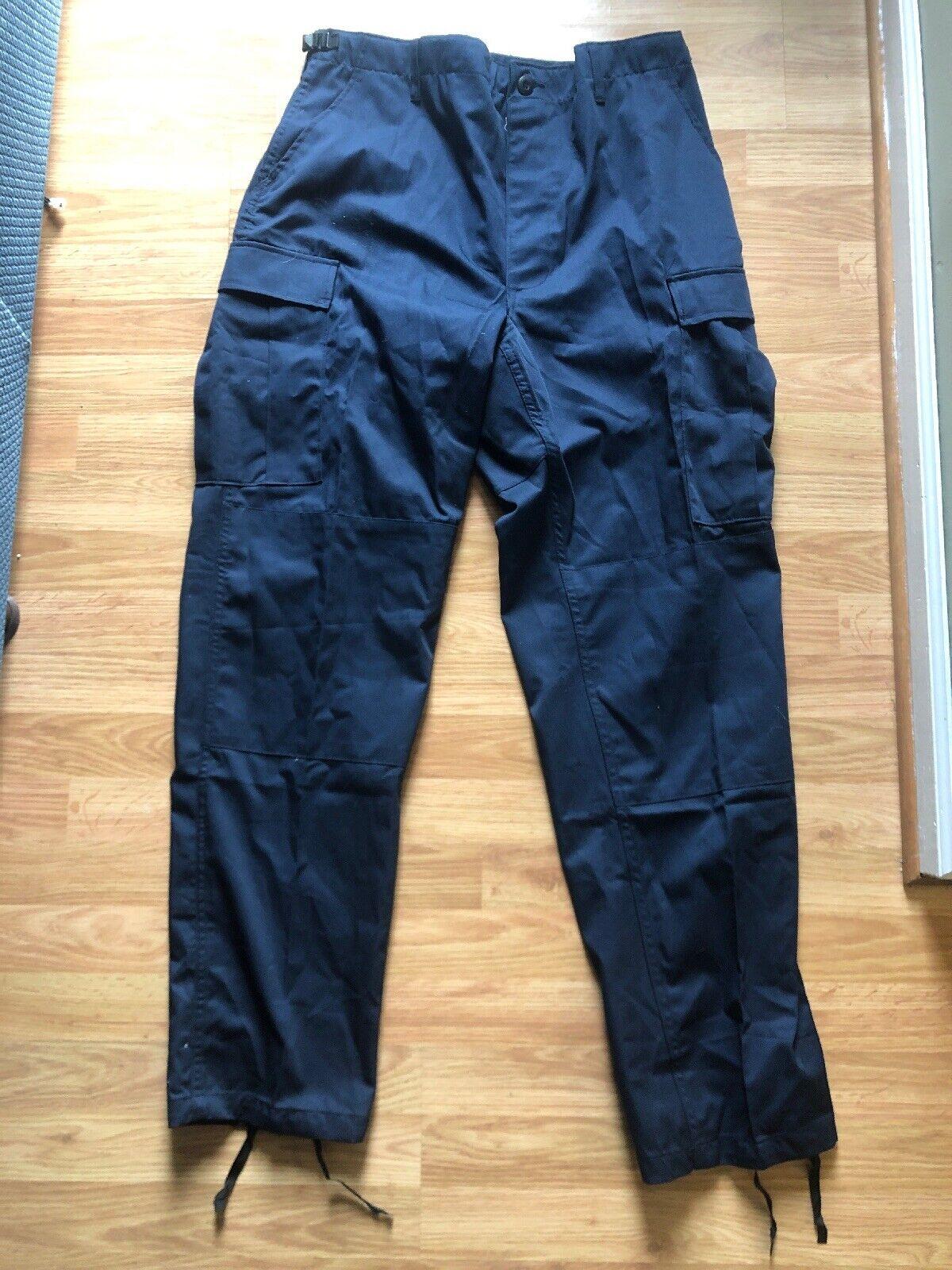 ☀NEW☀Men's Propper BDU Pants Cargo Navy Large Long Tactical Pants