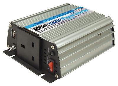 Soleado 150w Main To Car Power Inverter 230v Ac - 12v Dc With Usb Port
