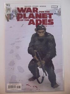 War for the Planet of the Apes #1 Unlocked Retailer Variant BOOM! NM Comics Book
