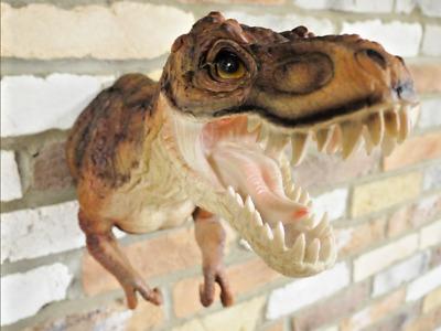 Resin Jurassic Park T-REX Dinosaur Head Wall Mounted Decoration VIVID ART GIFT