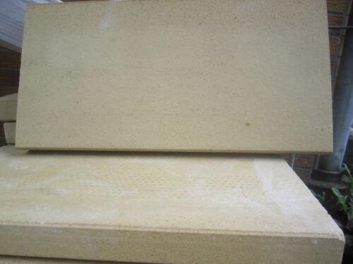 3x Schamotte-platten Schamott Schamottstein 500x200x30