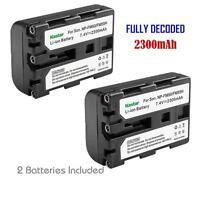 Kastar Np-fm50 Battery For Sony Ccd-trv228 Trv238 Trv308 Trv318 Trv328 Trv338