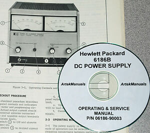 HP  6130A  Power Supply Operator /& Service Manual