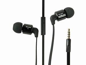Flachband-InEar-Stereo-Headset-Kopfhoerer-von-AWEI-ES-600i-Schwarz-Ohrhoerer-inear