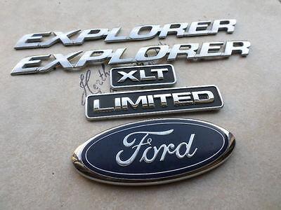 Genuine Ford 4L2Z-7842528-BA Nameplate