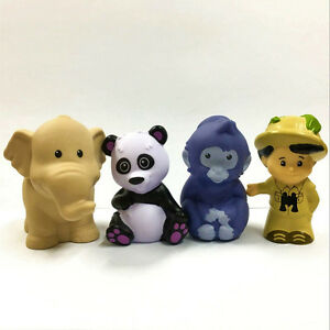 4pcs-Fisher-Price-Little-People-Jungle-TreeHouse-Family-Animals-Figure-Boy-Toy