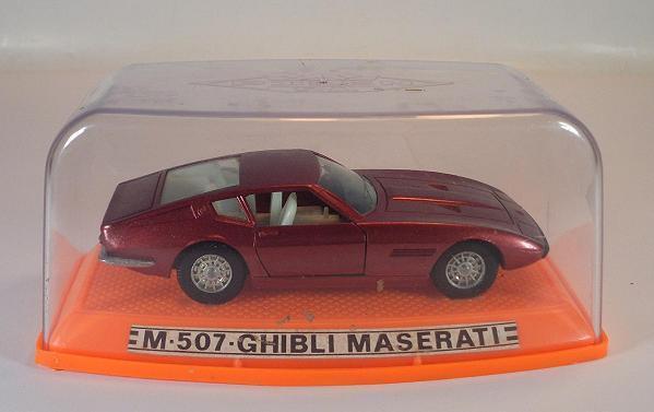 Pilen 1 43 Nr. M 507 Maserati Ghibli Coupe rotmetallic OVP  048