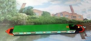 Semi-Traditional-narrow-boat-cruiser-21-6-cm-long-54ft-ready-painted-amp-decaled