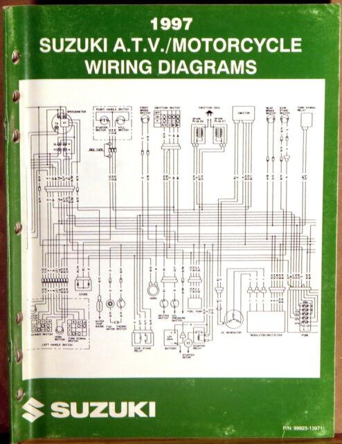 Suzuki Service Manual Motorcycle  U0026 Atv Wiring Diagrams