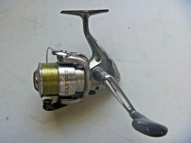 Shimano Solstace 2500 FI Front Drag Spin Fishing Reel 4 Ball Bearing