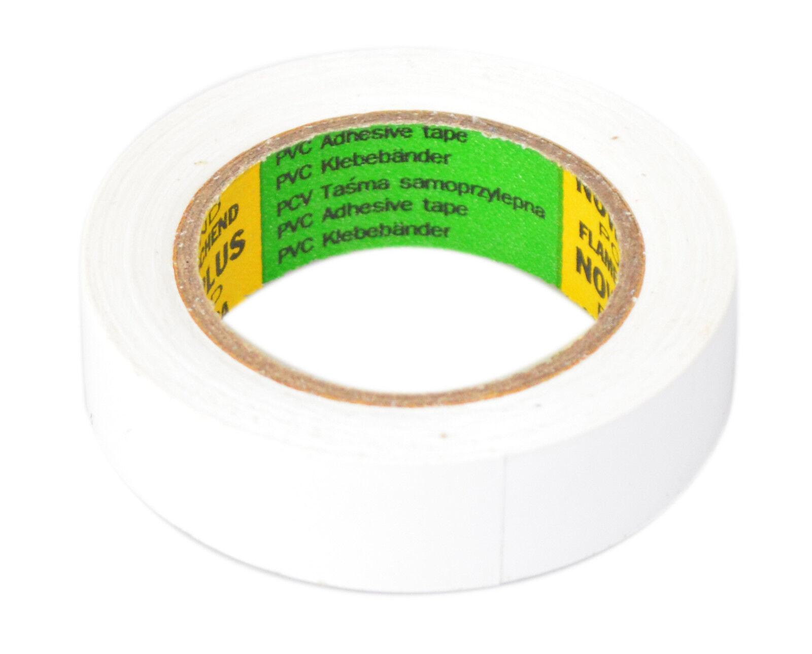 Rolle Schwarz Elektriker Klebeband PVC Isolierband Isoband 25mm x 10m